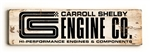 CS Engine Co Wooden Plank Sign