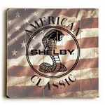 American Classic Wooden Sign