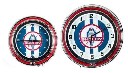 shelby cobra clock