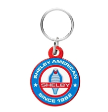 Shelby American  Round Keychain