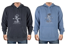 Personalized Shelby Snake Hoody- Denim or Grey